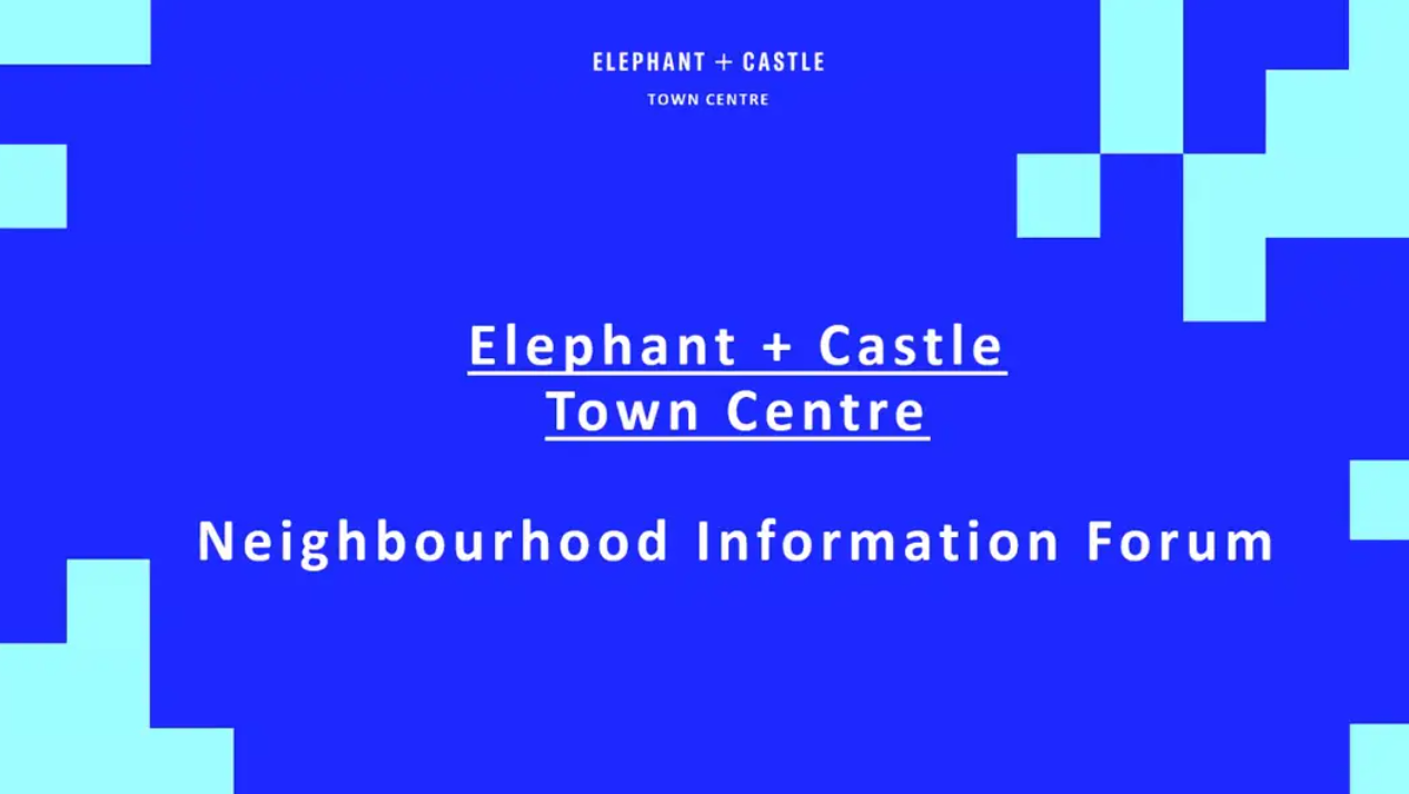 Elephant & Castle Town Centre neighbourhood information